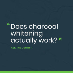Does Charcoal Whitening Actually Work? Portrait
