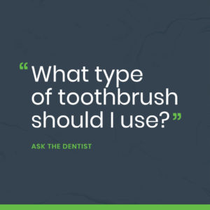 What Type of Toothbrush Should I Use? Portrait