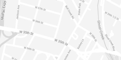 Map to Brush32 of Central Austin