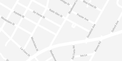 Map to Brush32 of South Lamar