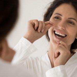 How Long Should You Floss? Portrait